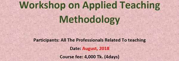 Workshop on Applied Teaching Methodology