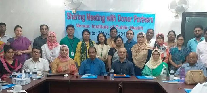 View Sharing Meeting with Donor Partners